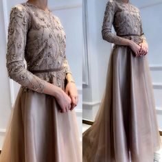 Fashion design inspiration dresses wedding gowns Ideas for 2019 Hijab Prom Dress, Hijab Gown, Kebaya Hijab, Muslimah Wedding Dress, Hijab Evening Dress, Kebaya Dress, Muslim Dress, Dress Outfits, Fashion Dresses