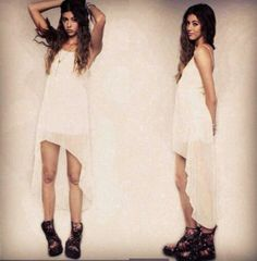 #brandymelville White flow and boots
