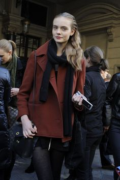 One of my fave models, Nimue Smit