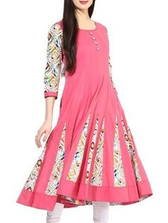 Check out what I found on the LimeRoad Shopping App! You'll love the pink cotton anarkali kurta. See it here http://www.limeroad.com/products/10138987?utm_source=1422f64fe6&utm_medium=android