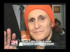 Cantante Leonardo Favio falleció  a los 74 años de edad Youtube, Singers, Celebs, Musica, November, Youtubers, Youtube Movies