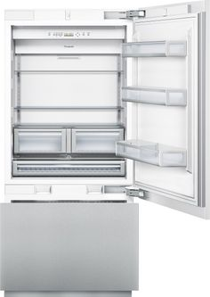 $6,096.95----Thermador - 36 inch Custom Panel Built-In Bottom-Freezer T36IB800SP