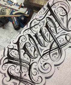 Quick Script @loveletters_tattoo  #LETTERSBYCHAVO #LOVELETTERS #SCRIPT