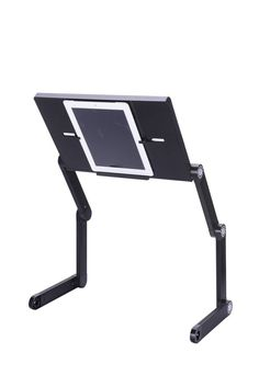 FREE Shipping For USA - Adjustable NEW Design Modern Style Portable Laptop Desk - iPad / Tablet Stand - Computer Table-Book Stand Or Bed Tray - Up To 17