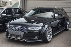 Phantom Black Metallic Allroad w/BBS CH-Rs