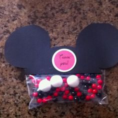 Mickey party favors!