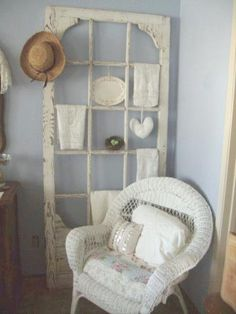 DIY Craft Projects using Old Vintage Windows Doors - Trash to Treasure - Architectural Salvage