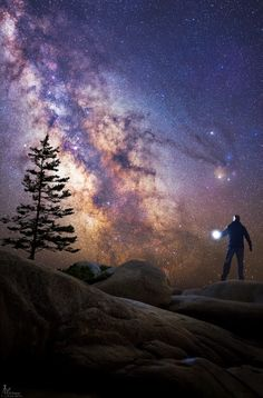 Behold the #Universe | What if you climbed up on a rock and discovered the Universe? You can. Although others have noted much of it before, you can locate for yourself stars, planets, and even the plane of our Milky Way Galaxy. All you need is a dark clear sky -- the rock is optional. If you have a camera, you can further image faint nebulas, galaxies, and long filaments of interstellar dust. If you can process digital images, you can bring out faint features, highlight specific colors, and…