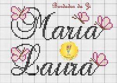 Pattern Names, Pattern Art, Cross Stitch Letters, Name Art, Baby Cats, Cross Stitching, Embroidery Stitches, Stitch Patterns, Needlework