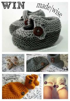 Win: a knitted baby set with Made Wise