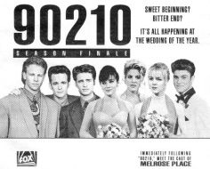 Beverly Hills 90210, Best Tv Shows, Best Shows Ever, Jennie Garth, It's All Happening, Shannen Doherty, Luke Perry, Melrose Place, Wedding Of The Year