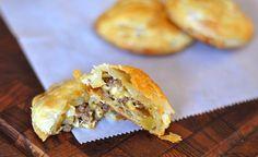 Sausage, Apple, Cheddar Hand Pies | D'Artagnan