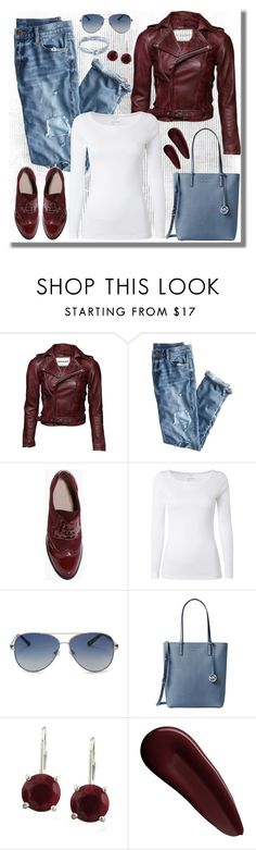 """Untitled #1260"" by gallant81 ❤ liked on Polyvore featuring J.Crew, Boohoo, White Stuff, Valentino, Michael Kors, Surratt and Anchor & Crew"