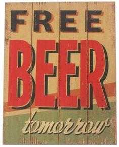 Free Beer Textual Art Print on Wood George Oliver Frames On Wall, Framed Wall Art, Harvest Songs, Painting Prints, Art Prints, Free Beer, Canvas Art, Canvas Prints, Leonid Afremov Paintings