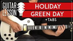 🎸► Holiday Guitar Tutorial 🎸 Green Day Guitar Lesson   TAB📕► FREE Chord