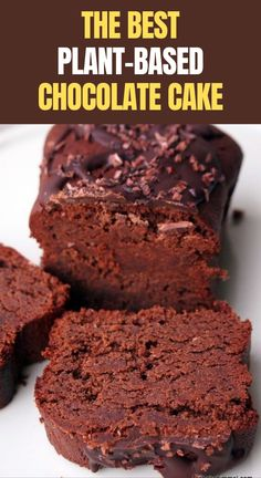 ere I share plant-based versions of all your favorite recipes, while also throwing in something new now and then. Click here to learn more! #foodies  #cooking #lunch Paleo Dessert, Healthy Dessert Recipes, Baking Recipes, Cake Recipes, Brownie Recipes, Dessert Blog, Vegetarian Recipes, Bolo Vegan, Vegan Cake