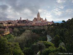 The city of Segovia. Spain. Please, read how we ate the famous Segovia's roast suckling pig.