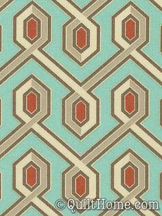 Deer Valley JD27-Celadon Fabric by Joel Dewberry