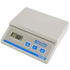 """10 lb x 0.5 oz Salter Brecknell 7010SB Digital Scale With PC Interface New by Salter. $74.50. Salter Brecknell 7010-SBRS232 Continuous outputCapacity 10lbPlatform Size- 8"""" L x 4.75"""" W 205 (L) mm x 120 mm (W)ThisSalter Brecknell 7010-SB is an excellent scale for the office and general weighing applications featuring a PC interface.Specifications:    Display- 0.5"""" High, LCD     Power- 9V AC adapter (included) or 9V battery (not included)     Operator Keys- On/Off(Tare), WT Hold,..."""