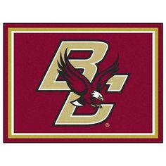 Boston College Eagles 8x10 Plush Area Rug