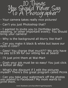 Photographer lol