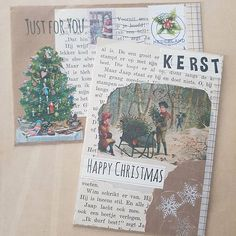 I also wanted to show the lovely Christmas mail I received from my sister  * #oldstuffshop #theoldstuffshop #oldstuff #thenetherlands #vintage #vintagechristmas #christmas #kerst #kerstpost #echtepost #ephemera #echtepostiszoveelleuker #snailmail #snailmaillove #snailmailrevolution #snailmailrocks #incoming #xmas  #handmade #handmadeart #wishes #handmadecard #handgemaakt #christmasmail #sister