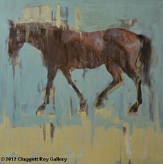 Horse 2 - Harmony with Blue and Yellow