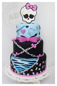 Monster High Cake better get going Trisha!! Lol