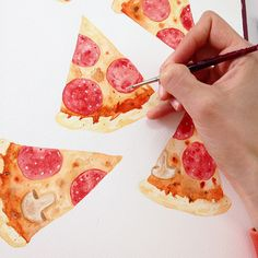 Pizza!! on Behance