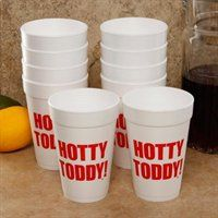 """Don't miss an opportunity to show off some team pride at your next tailgate with this 10-pack of fun foam cups. Each cup features """"Hotty Toddy!"""""""