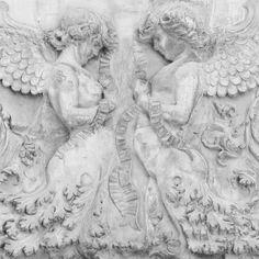Mineheart,Tapeta ścienna Stone Angels - SKANDYNAWSKIE.PL