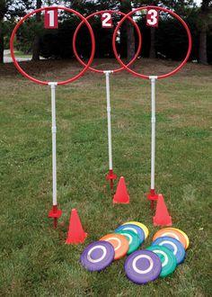 Disc Golf Sets Fixed Height Outdoor - GA538M - Disc Golf Target Set (3-hole)