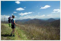Hog Camp Gap to Tye River.  This hike goes through one of my favorite spots in Virginia!