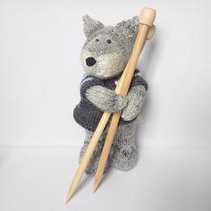 Gray Wolf knitting pattern ….