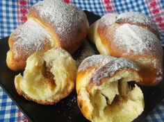 Romanian Food, Cooking Recipes, Healthy Recipes, Strudel, No Cook Meals, Bagel, Biscotti, Caramel, Food And Drink