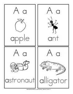 letter a vocabulary words preschool ladder snakes and on 13014