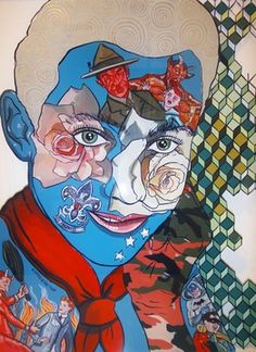 Melanie Roger Gallery represents and exhibits contemporary artists from New Zealand and Australia. Sam Mitchell, New Zealand Art, Jr Art, Ap Studio Art, Painting Collage, Painting Patterns, Figure Drawing, Art Studios, Art Lessons