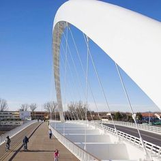 Richard Meier & Partners @richardmeierpartners completes its first pedestrian and vehicular bridge in #Italy. This image captured by @huftonandcrow More images and full design story on @wacommunity News #architecture #design #bridge #italy #public #urban - Architecture and Home Decor - Bedroom - Bathroom - Kitchen And Living Room Interior Design Decorating Ideas - #architecture #design #interiordesign #homedesign #architect #architectural #homedecor #realestate #contemporaryart #inspiration…
