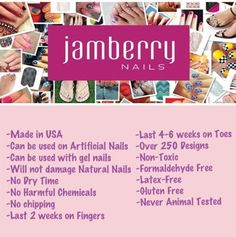 Do you LOVE JAMBERRY? Are you new to Jamberry products?  Visit my website! http://www.inspirationalnails.jamberrynails.net