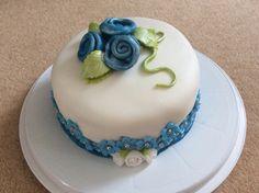 Rose water flavoured celebration cake