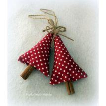 Karácsonyi textil fenyő - pöttyös Textiles, Decorative Bells, Christmas Ornaments, Holiday Decor, Home Decor, Decoration Home, Room Decor, Christmas Jewelry, Fabrics