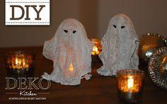 Diy Coole Halloween Gespenster Aus Gips Deko Kitchen Halloween Deko Selber Machen Halloween Deko Basteln Halloween Deko