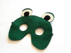 Frog Felt Children Mask Kids Mask Halloween Costume by BHBKidstyle, €11.00