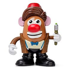 Doctor Who 11th Doctor Mr Potato Head from Think Geek.com  This is probably the weirdest piece of Doctor Who merchandise that I have EVER seen!  I guess this is what you get the Doctor Who fan who already has everything else.