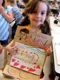 Field Elementary Art Blog!: The Art of Going Home