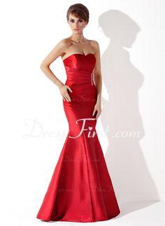 Option 4 - Mermaid Sweetheart Floor-Length Taffeta Evening Dress With Ruffle Beading (017013777)  http://www.dressfirst.com/Mermaid-Sweetheart-Floor-Length-Taffeta-Evening-Dress-With-Ruffle-Beading-017013777-g13777