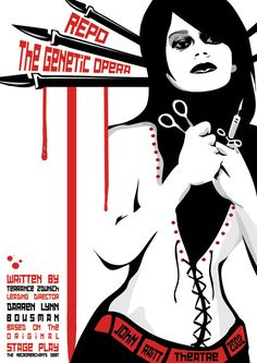 Repo the Genetic Opera. It's a great movie, but I would hate to have this as are future,