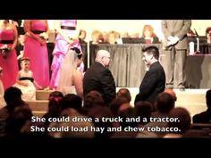 Father of the Bride speech... so cute!