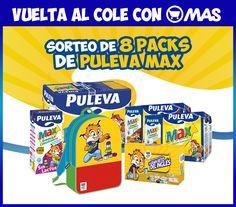 ¡Nuevo sorteo! Gana uno de los 8 lotes Puleva MAX que regalamos, ¡y ahorra con la vuelta al cole! Participa>>bit.ly/SorteoPulevaMAX + Info>>bit.ly/InfoPulevaMAX #Sorteo #Promo #VueltaAlCole #PulevaMAX