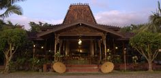 Most beautiful home design In the world. Rumah Joglo, Java, Indonesia